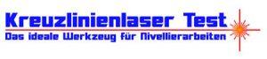 Kreuzlinienlaser Test Logo