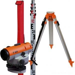 Nivellier-Set Ausführung F32 von BauSupermarkt24